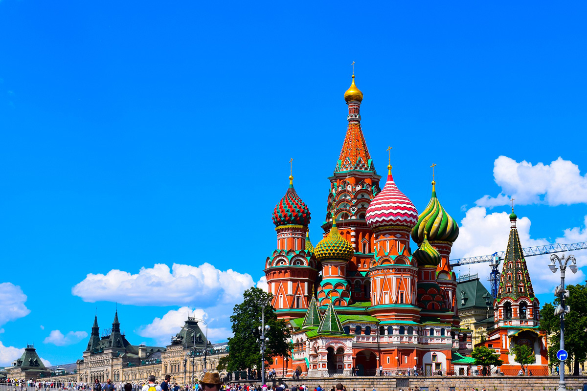 St Basil's Cathedral in Moscow
