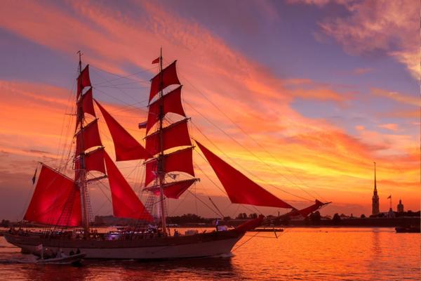 scarlet sails st petersburg