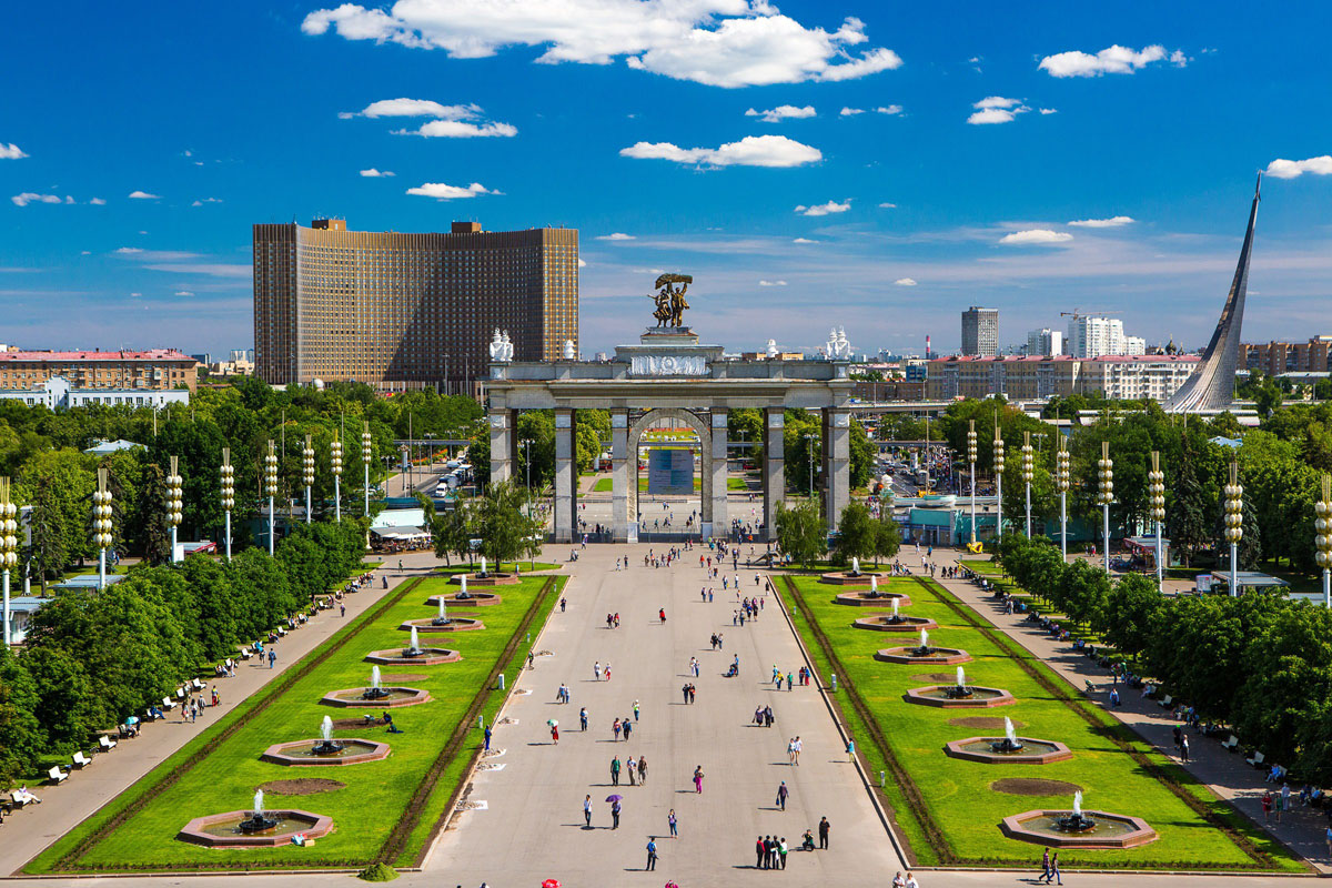 vdnh park moscow