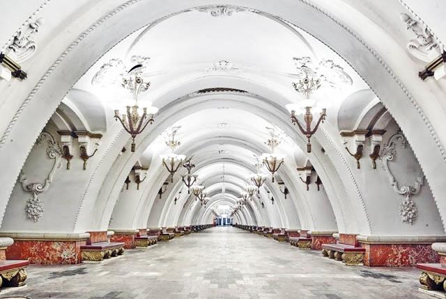 Arbatskaya station moscow subway