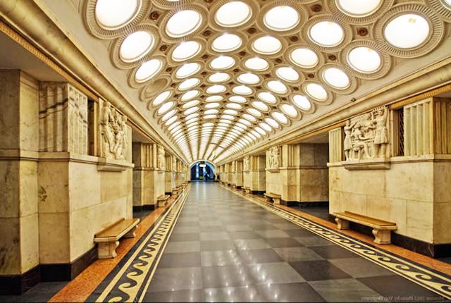 Electrozavodskaya moscow metro