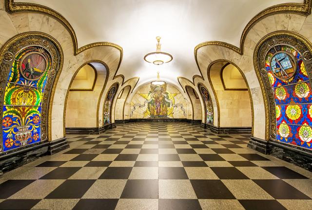 Novoslobodskaya Metro St – Opened in 1952