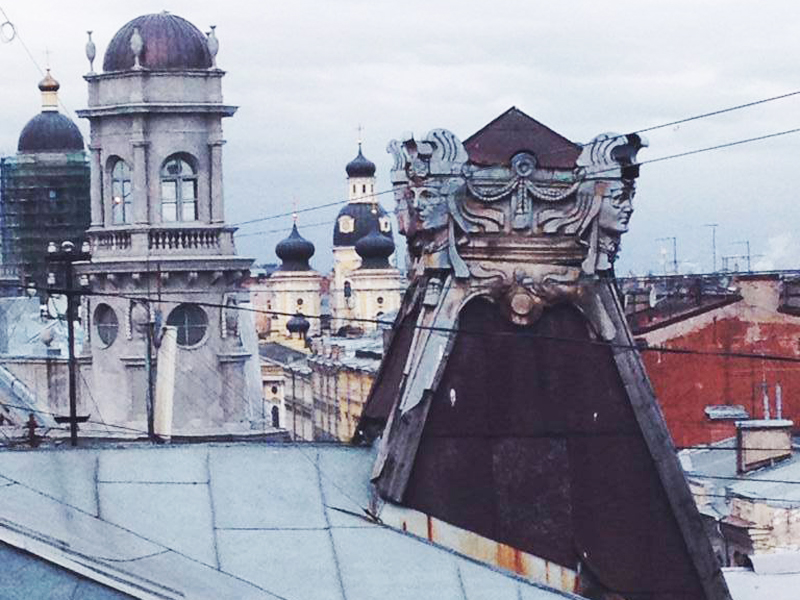 rooftop tour St Petersburg
