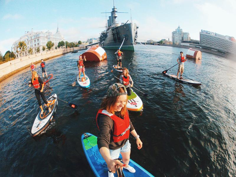 Paddleboarding St Petersburg