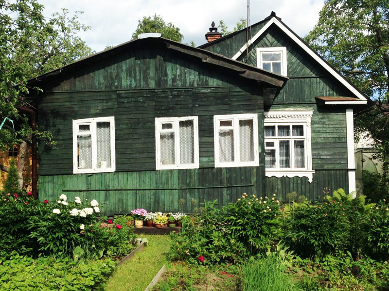 The real dacha in Russia