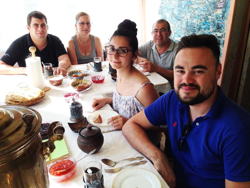 Tour to russian dacha