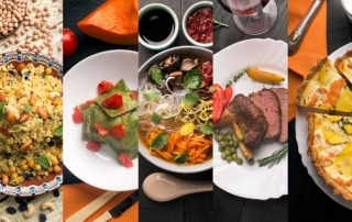 international cuisine Russia