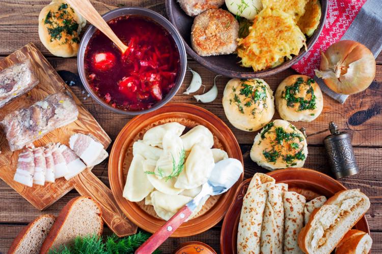 Ukranian food