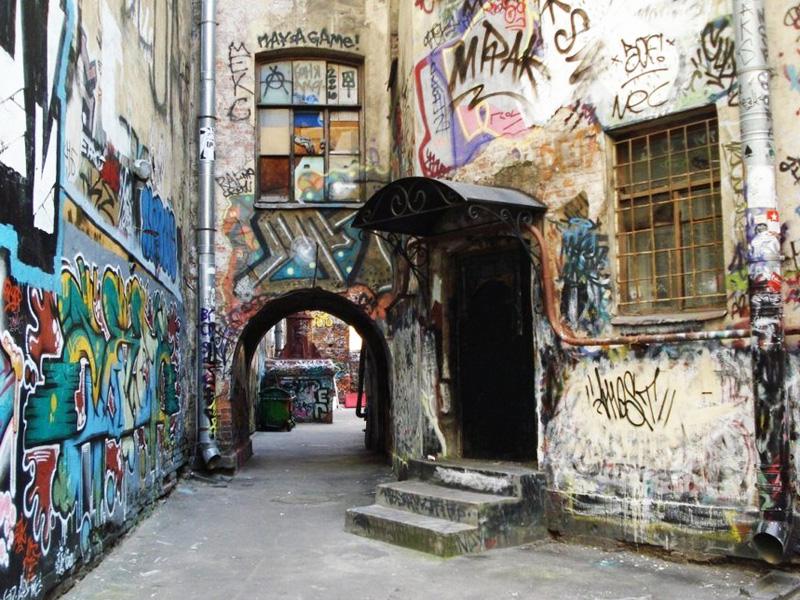 Saint Petersburg inside